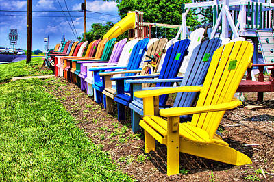 Photograph - Chairs For Sale by Trudy Wilkerson