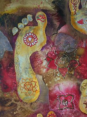 Religious Mixed Media - Chakra Awaken 2 by Vijay Sharon Govender