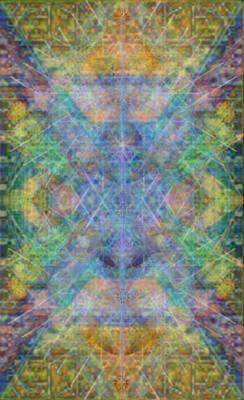 Chalicell Garden Mandala Art Print by Christopher Pringer