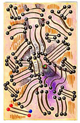 Chamber Music Art Print by Al Goldfarb