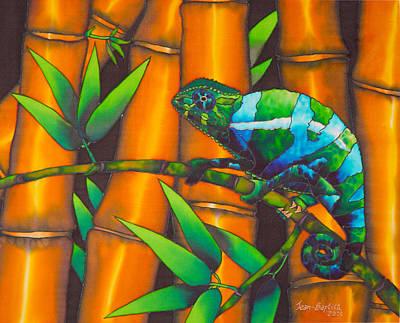 Chameleon Art Print by Daniel Jean-Baptiste