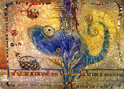 Chameleon Art Print by Svetlana and Sabir Gadghievs