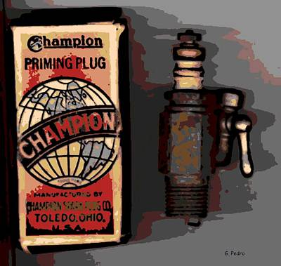 Photograph - Champion by George Pedro