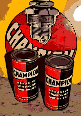 Photograph - Champion In A Can by George Pedro