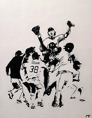 Champions Art Print by Matthew Formeller