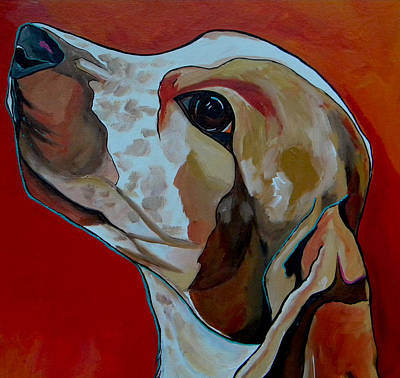Painting - Chance Close Up by Patti Schermerhorn