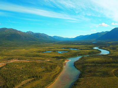 Photograph - Chandalar River - Brooks Range Alaska by Adam Owen