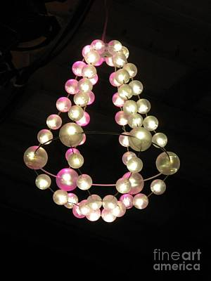 Photograph - Chandelier From Pearls by Ausra Huntington nee Paulauskaite
