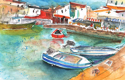 Painting - Chania 01 by Miki De Goodaboom