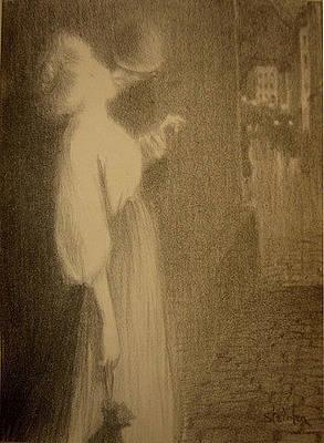 Chansons De Femmes Tu Mapparus Original by Alexandre Theophile Steinlen