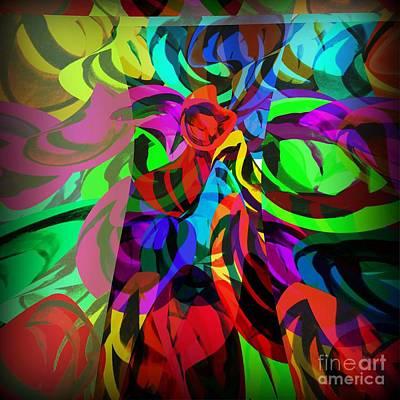 Digital Art - Chaos by Ankeeta Bansal