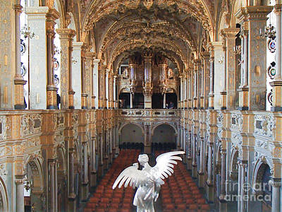 Photograph - Chapel At Frederiksborg Slot by Michael Canning