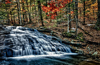 Photograph - Chapel Briik Falls by Fred LeBlanc