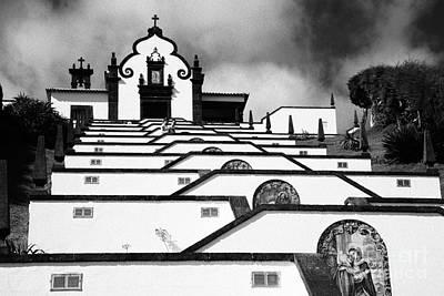 Chapel In Azores Art Print by Gaspar Avila
