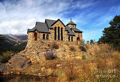 Saint Catherine Of Siena Chapel Photograph - Chapel On The Rock by Deb Koskovich