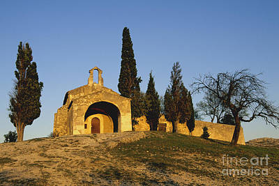 The View Photograph - Chapelle D'eygalieres En Provence. by Bernard Jaubert