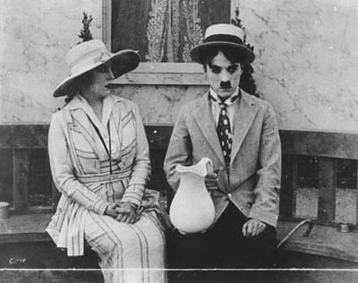 Chaplin: The Cure (1917) Art Print by Granger