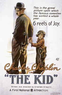 Chaplin: The Kid, 1920 Print by Granger