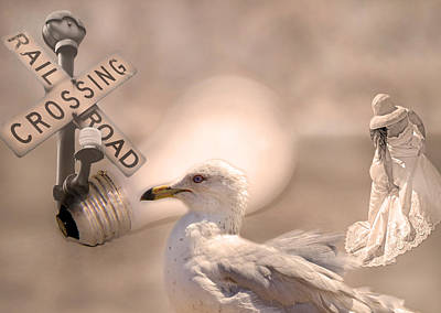 Seagull Digital Art - Chapter Nineteen  by Betsy Knapp