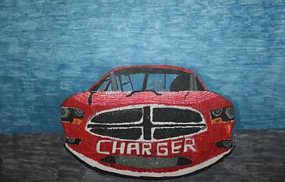 Drawing - Charger Art By My Son by Stacy C Bottoms