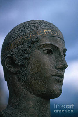 Charioteer Of Delphi Art Print by Photo Researchers