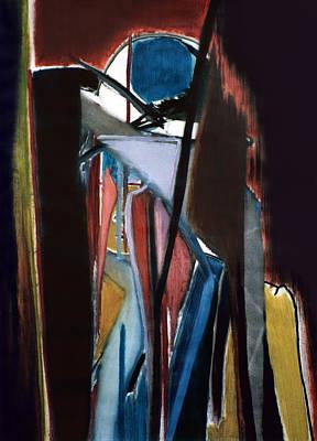 Charlot Painting - Charles Chaplin by Fabrice Plas