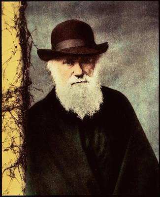 Charles Darwin Art Print by