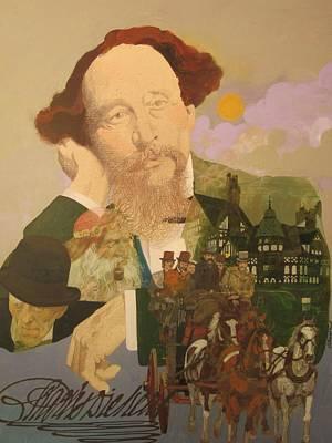 Charles Dickens Original by Chuck Hamrick