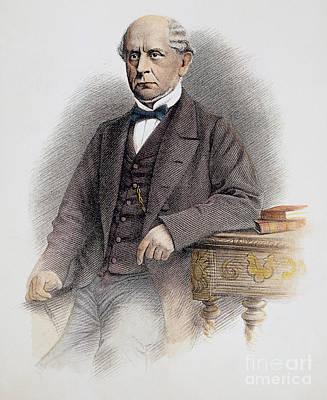 Charles Francis Adams Art Print by Granger