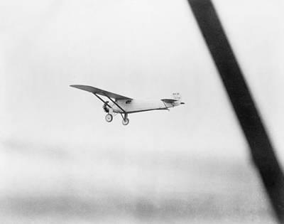 Charles Lindberghs Airplane, The Spirit Art Print by Everett
