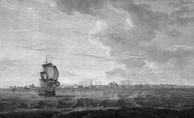 Charleston. A View Of Charles-town Print by Everett