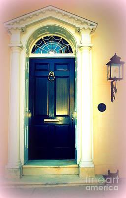 Charleston Door Photograph - Charleston Door 1 by Susanne Van Hulst