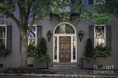 Photograph - Charleston Doorway by David Waldrop