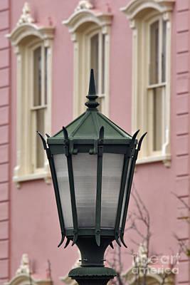 Gas Lamp Photograph - Charleston Gas Lamp - D002089 by Daniel Dempster
