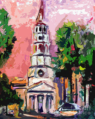 Painting - Charleston Memories South Carolina by Ginette Callaway