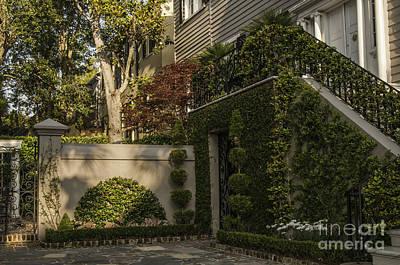 Photograph - Charleston Private Garden by David Waldrop