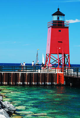 Art Print featuring the photograph Charlevoix Light by Janice Adomeit