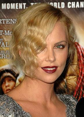 Charlize Wall Art - Photograph - Charlize Theron At Arrivals For Afi by Everett