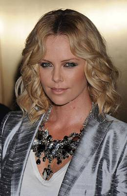Charlize Theron Photograph - Charlize Theron At Arrivals For Conde by Everett