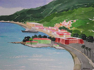 Charlotte Amalie Art Print by Robert Rohrich