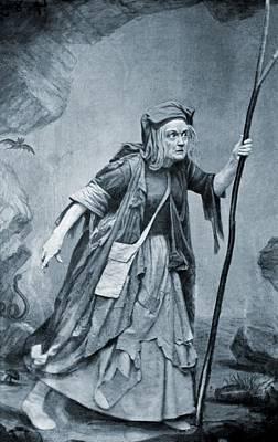 Charlotte Cushman 1816-1876, In Costume Art Print by Everett