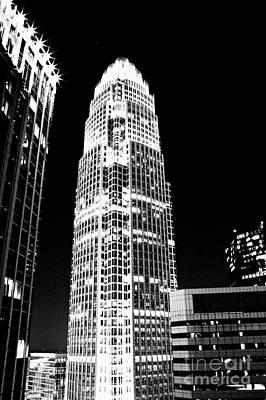 Charlotte North Carolina Bank Of America Building Art Print