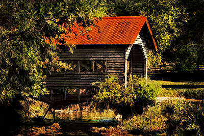 Photograph - Charming Covered Bridge  by Trudy Wilkerson