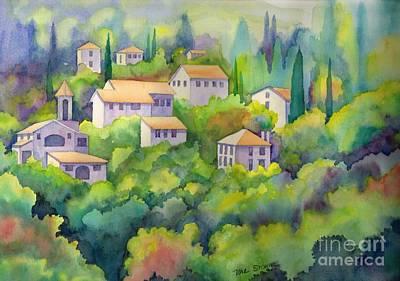 Charming Provence Art Print