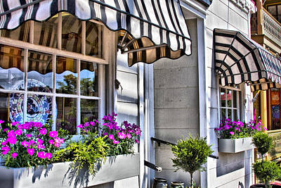 Photograph - Charming Store Front by Trudy Wilkerson