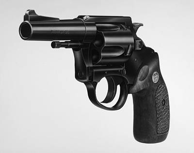 Photograph - Charter Arms Revolver by Granger