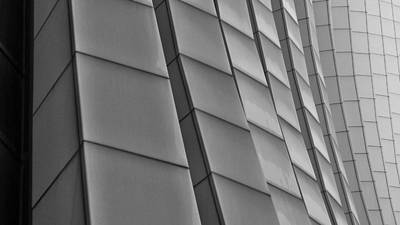 Photograph - Chase Tower Abstract by Tom Bush IV