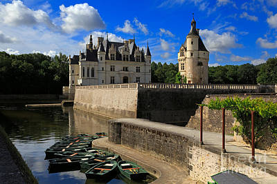 Chateau Photograph - Chateau Chenonceau Loire Valley by Louise Heusinkveld