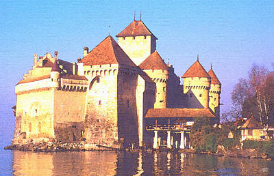Chateau Chillon Art Print