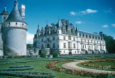 Chateau Chenonceau Photograph - Chateau De Chenonceau by Photo Researchers, Inc.